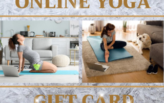 Online yoga gift card