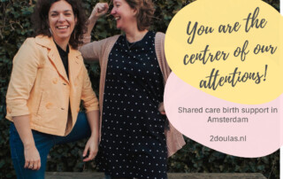 2Doulas shared care birth support